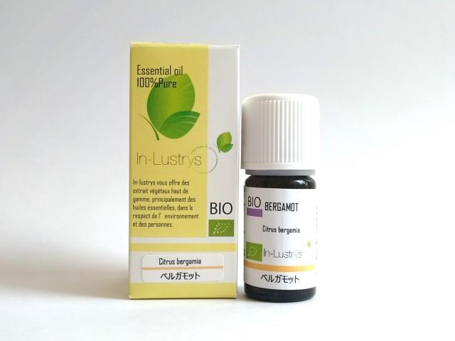 ベルガモット (Citrus bergamia) 5ml イタリア産 アロマテラピー エッセンシャルオイル 精油 In-Lustrys インラストリーズ