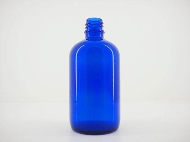 コバルトブルー遮光瓶 100ml アロマテラピー