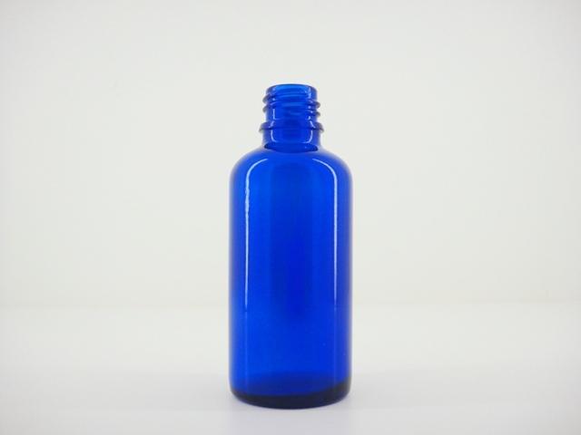 コバルトブルー遮光瓶 50ml アロマテラピー