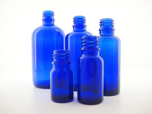 コバルトブルー遮光瓶 アロマテラピー