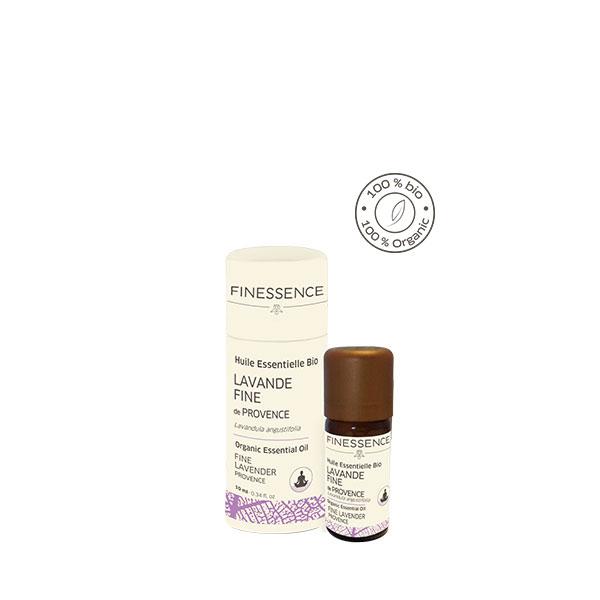 真正ラベンダー (Lavandula angustifolia) 10ml フランス産 アロマテラピー エッセンシャルオイル 精油 FINESSENCE フィネッサンス