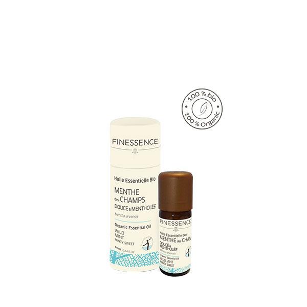 ペパーミント (Mentha piperita) 10ml インド産 アロマテラピー エッセンシャルオイル 精油 FINESSENCE フィネッサンス
