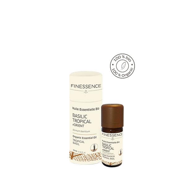 バジルメチルカビコール (Ocimum basillicum) 10ml インド産 アロマテラピー エッセンシャルオイル 精油 FINESSENCE フィネッサンス