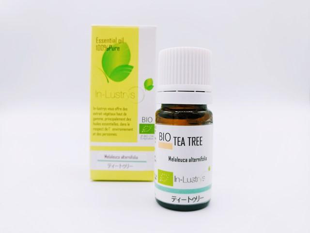 ティートゥリー (Melaleuca alternifolia) 5ml オーストラリア産 アロマテラピー エッセンシャルオイル 精油  インラストリーズ