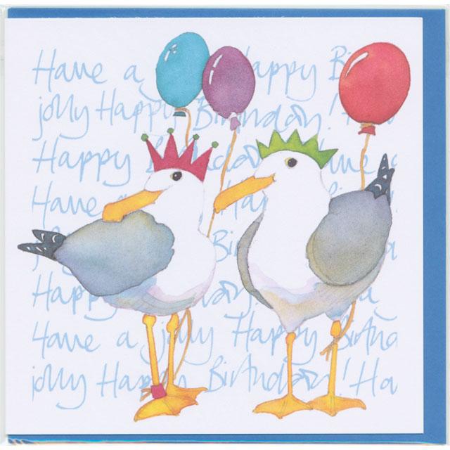 誕生日カード バースデー カモメ