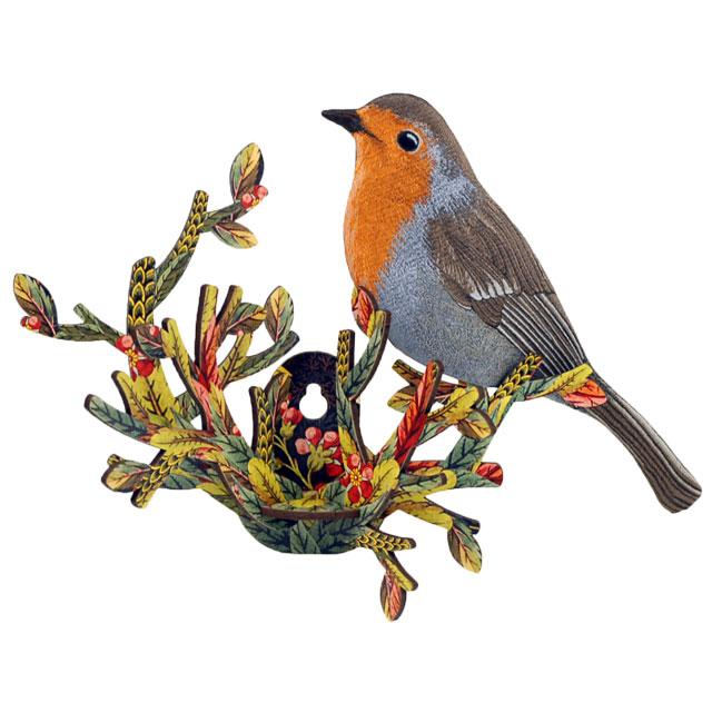 鳥のオブジェ ウォールデコ MIHO UNEXPECTED THING