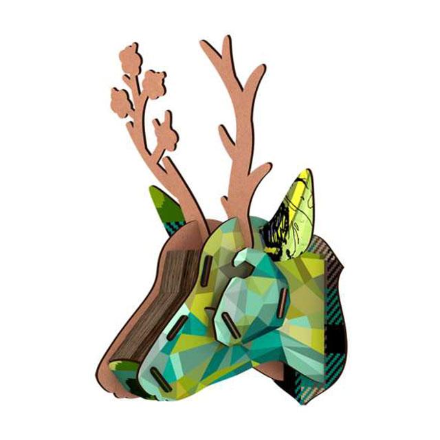 鹿のオブジェ ウォールデコ MIHO UNEXPECTED THINGS