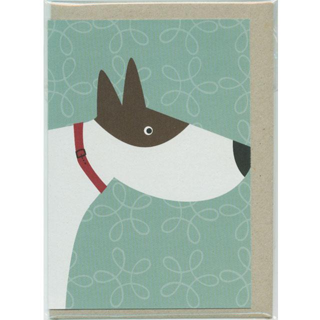 グリーティングカード 犬 Mokoh Design