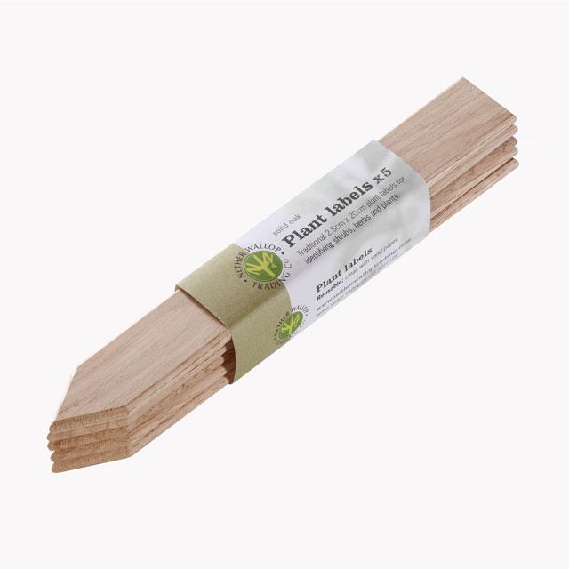 木製園芸用ラベル 5枚セット