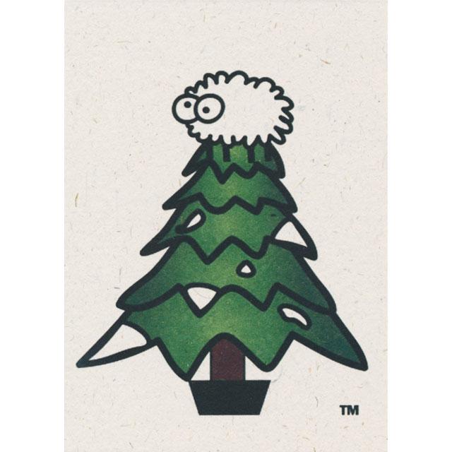 ひつじのフンで再生紙 Sheep Poo Paper クリスマスカード