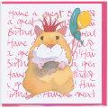 誕生日カード バースデー ハムスター