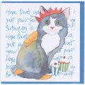 誕生日カード バースデー 猫