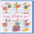 誕生日カード バースデー 鳥