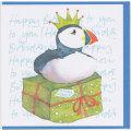 誕生日カード バースデー パフィン