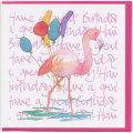 グリーティングカード 誕生日 フラミンゴ Emma Ball エマボール