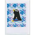 グリーティングカード ペンギン Mokoh Design