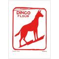 ティータオル キッチンクロス ディンゴ 犬 オーストラリア
