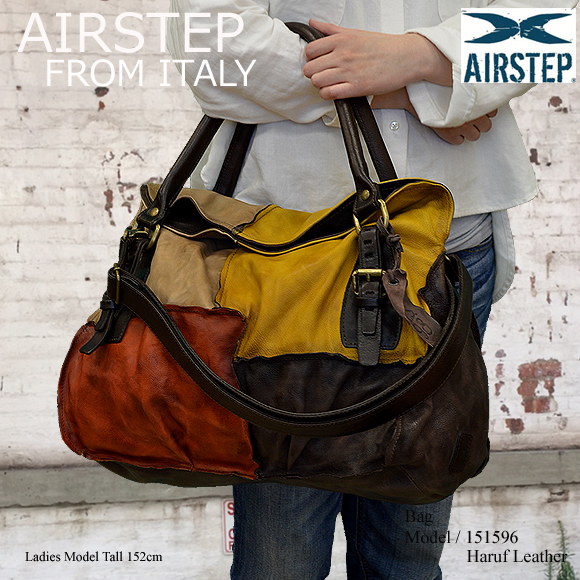 AIRSTEP レザーバッグ レディース 151596model