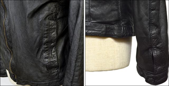 ライダースジャケット メンズ df16g720bk4