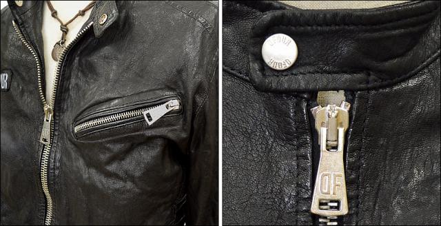 ライダースジャケット シングル df16g721bk3