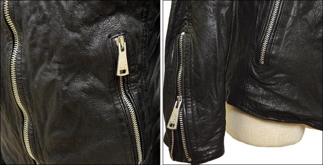 ライダースジャケット シングル df16g721bk4