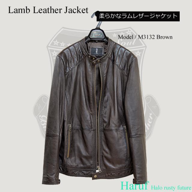 ライダースジャケット シングル m3132br7