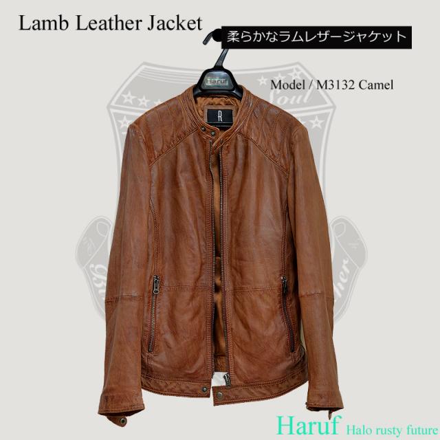 ライダースジャケット シングル m3132cam7