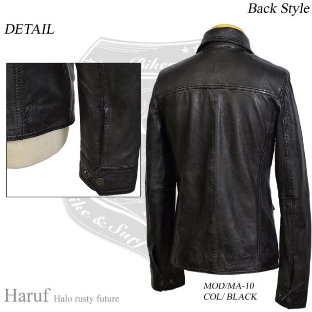 レザーシャツジャケット ma10bkback