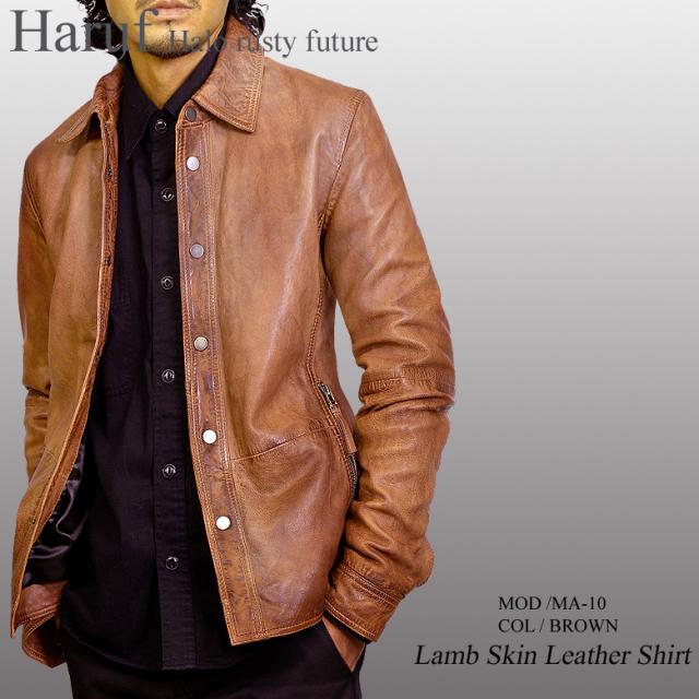 レザーシャツジャケット ma10brmod1n