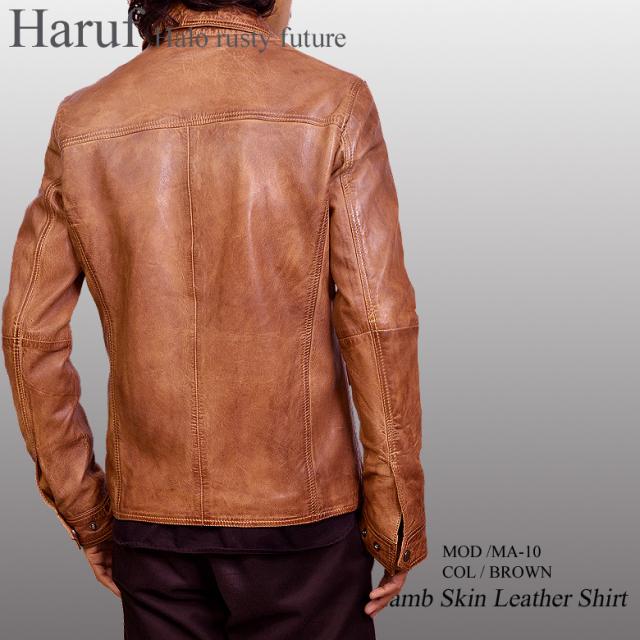 レザーシャツジャケット ma10brmod2n