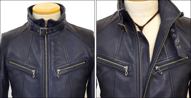 シングル レザージャケット os1nav22015