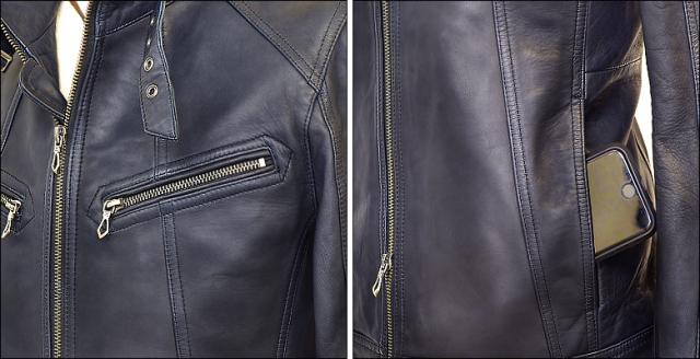 シングル レザージャケット os1nav32015