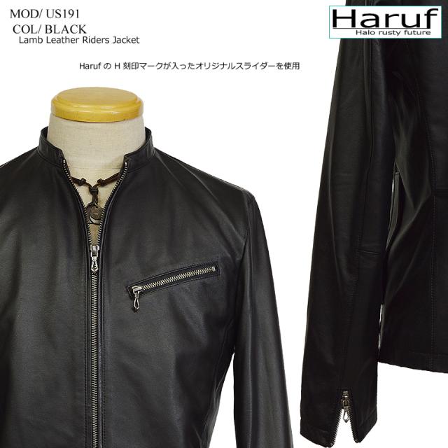 本革レザージャケットシングルメンズブラック黒us191bk7