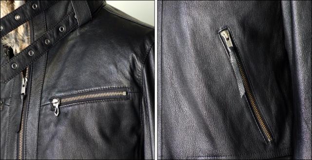 ライダースジャケット 本革 usa005bk4q