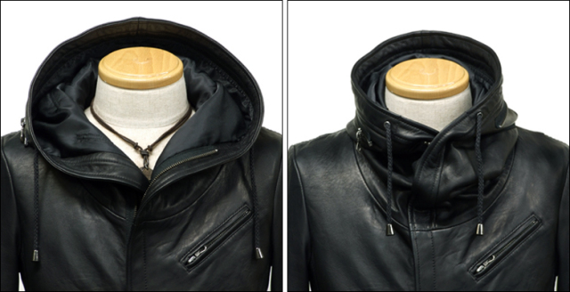 ライダースジャケット シングル usa132bk2
