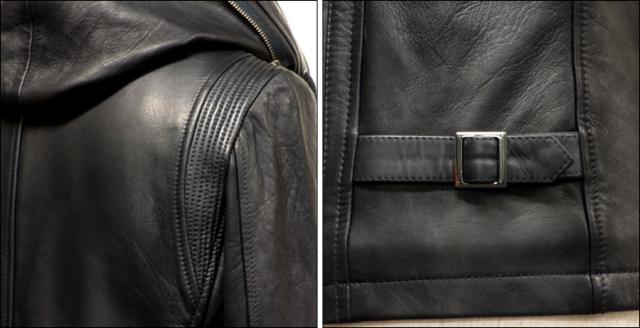 ライダースジャケット シングル usa132bk5
