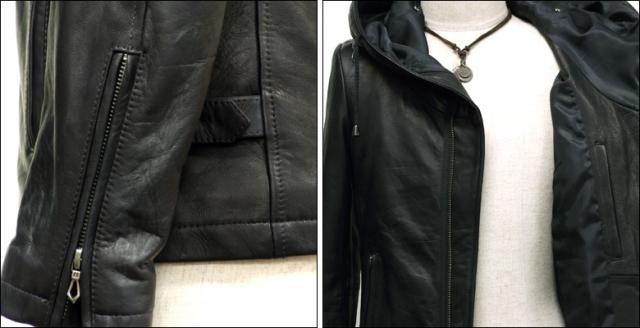 ライダースジャケット シングル usa132bk6