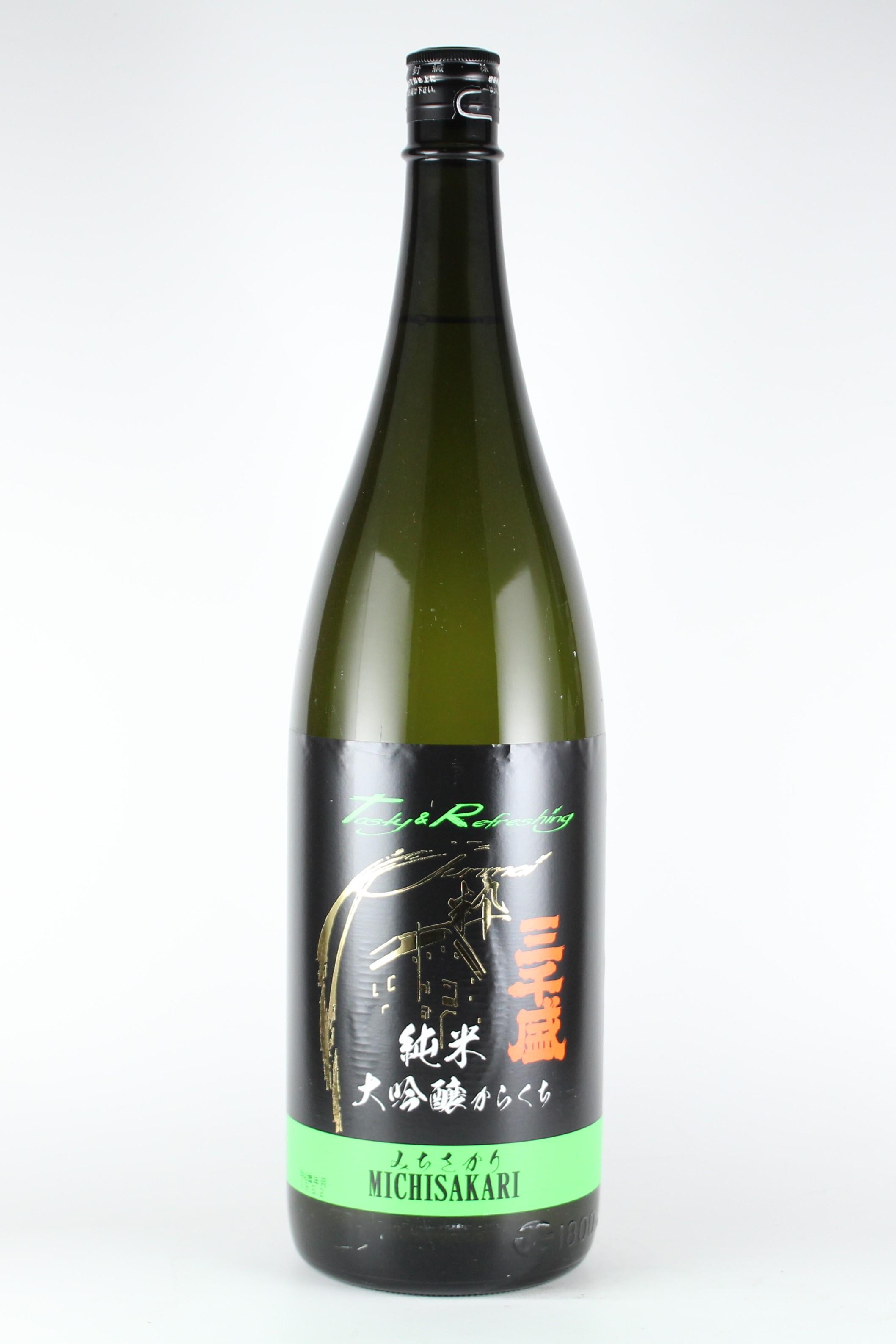 三千盛 純米大吟醸 プラス12 1800ml 【岐阜/三千盛】