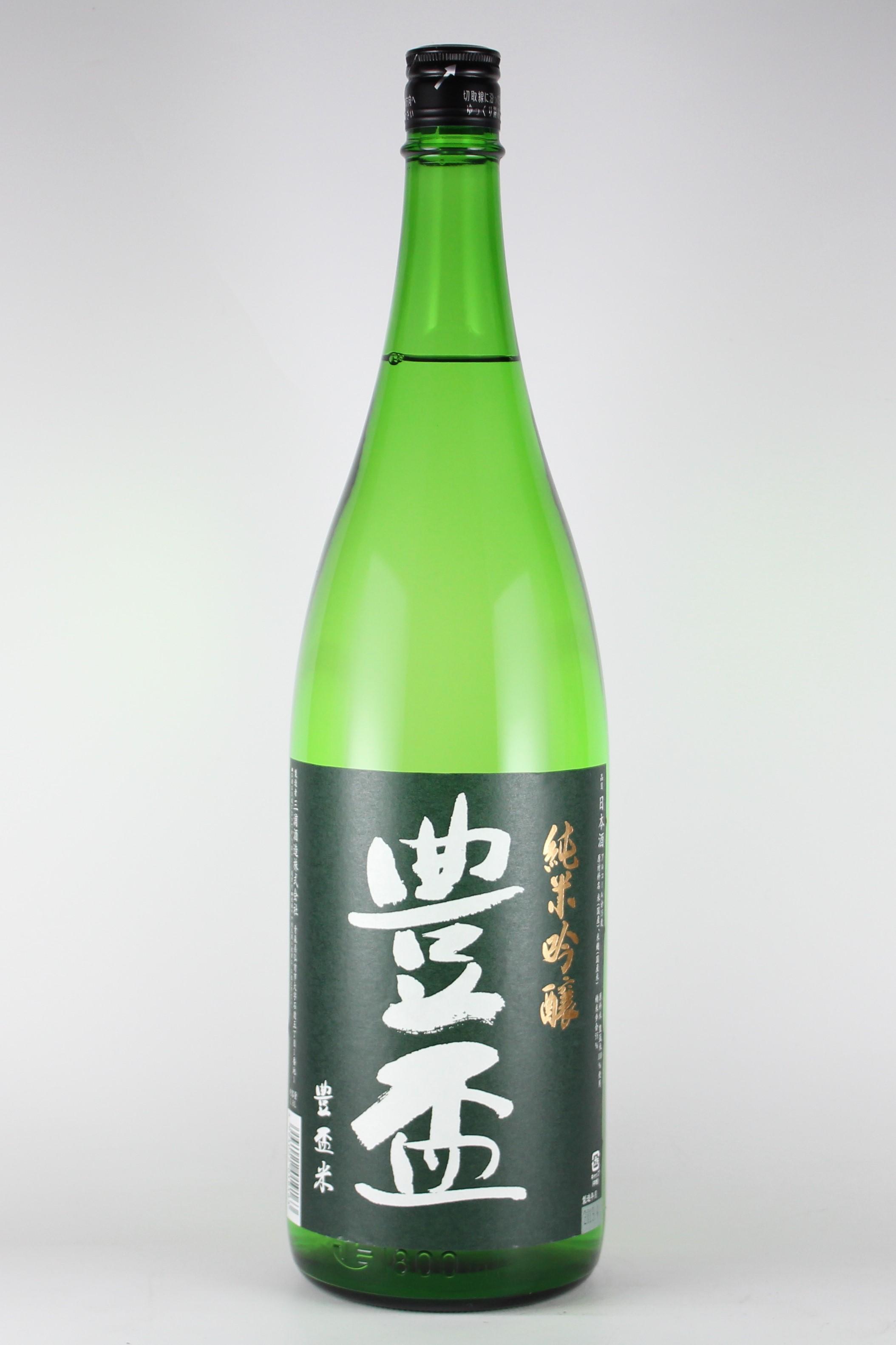 豊盃 純米吟醸 豊盃米 1800ml 【青森/三浦酒造】