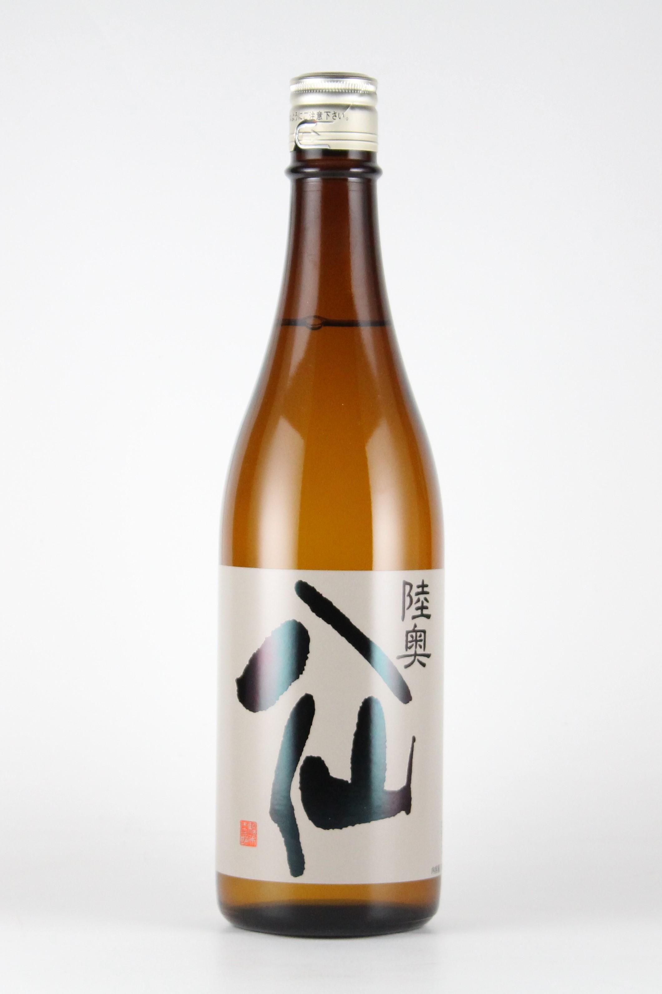 陸奥八仙 黒ラベル 純米吟醸無濾過原酒 720ml 【青森/八戸酒造】