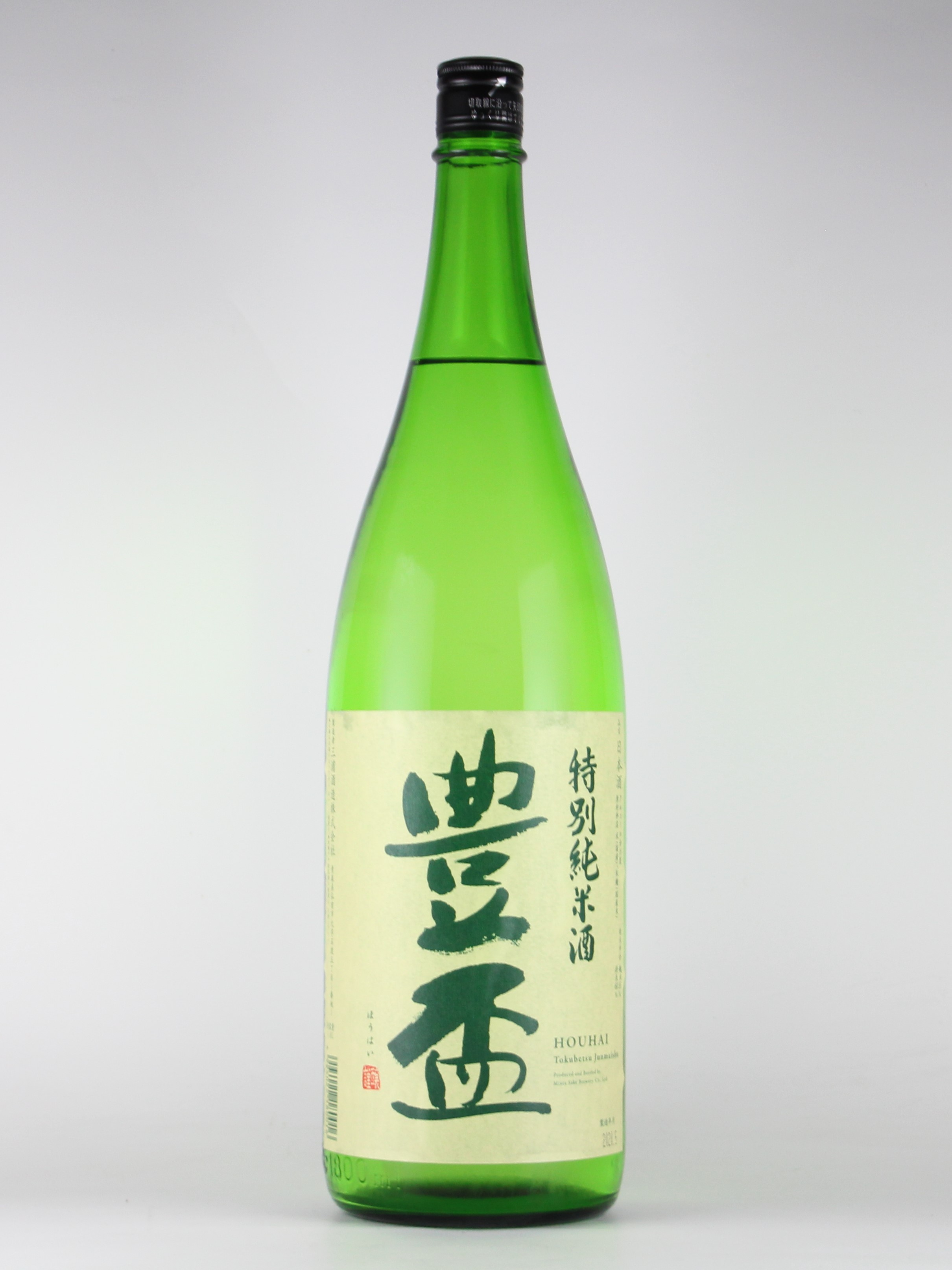 豊盃 特別純米 豊盃米 1800ml 【青森/三浦酒造】