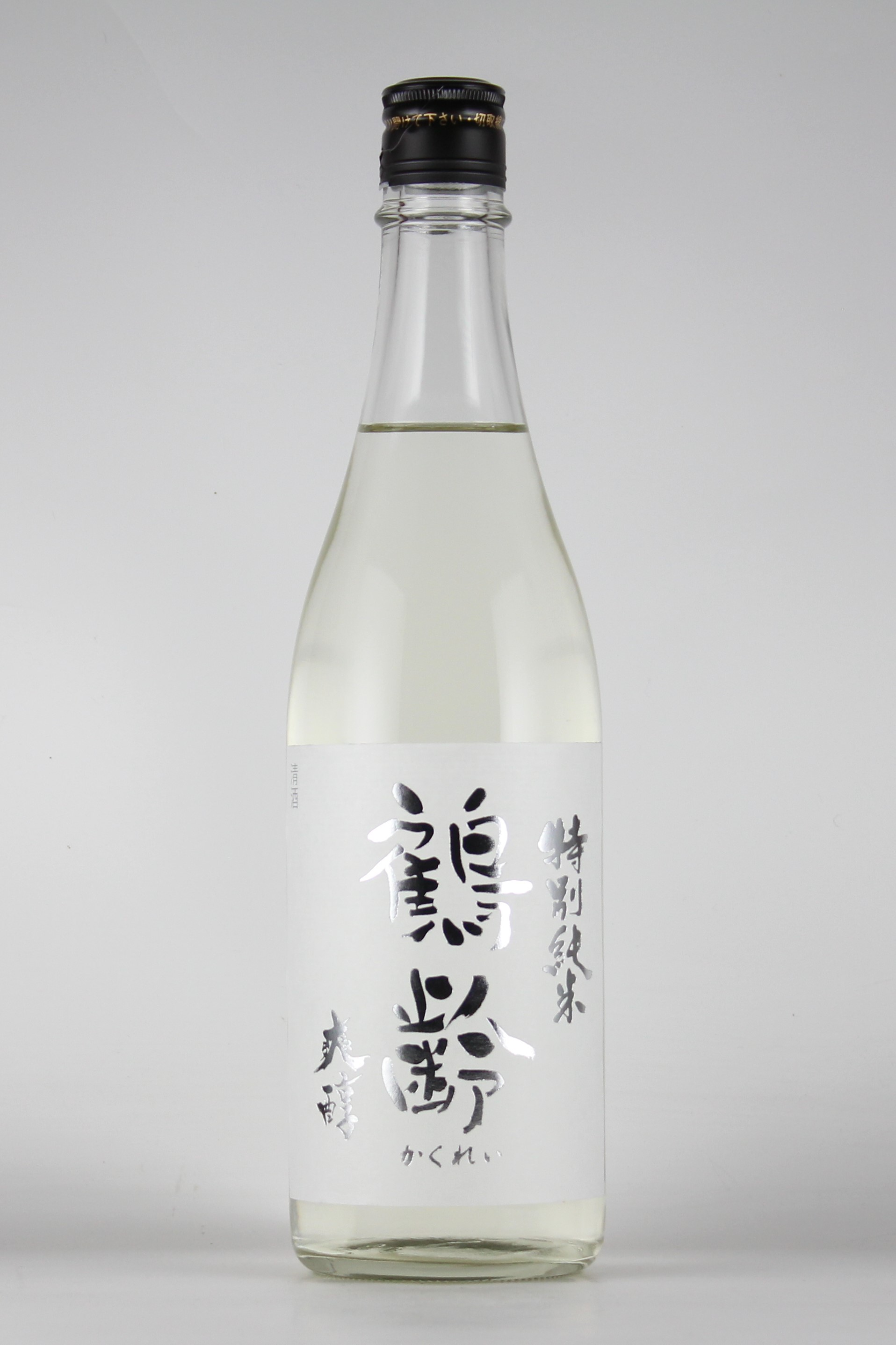 鶴齢 爽醇 特別純米 越淡麗 720ml 【新潟/青木酒造】