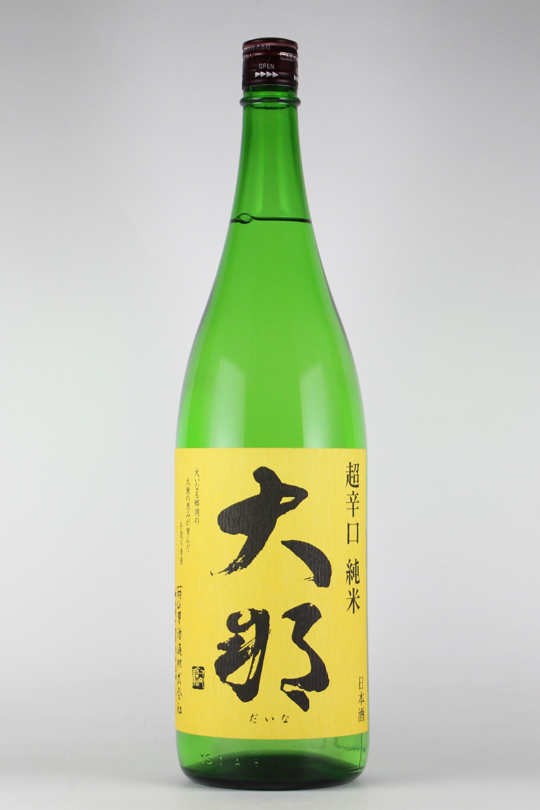 大那 超辛口純米 五百万石 1800ml 【栃木/菊の里酒造】