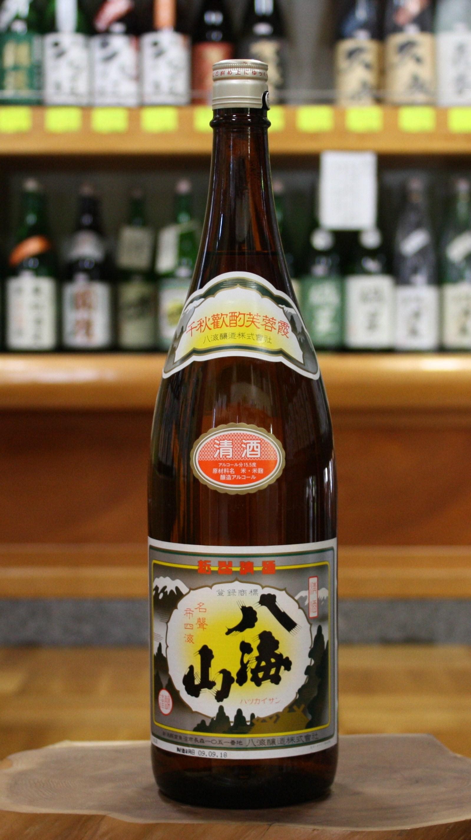八海山 清酒 (1800ml)【新潟/八海醸造】