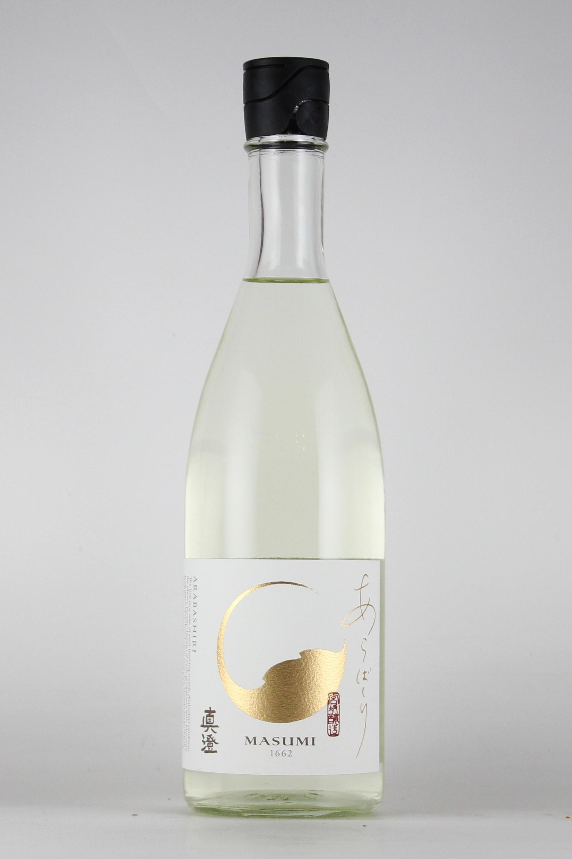 真澄 あらばしり 純米吟醸無濾過生原酒 720ml 【長野/宮坂醸造】