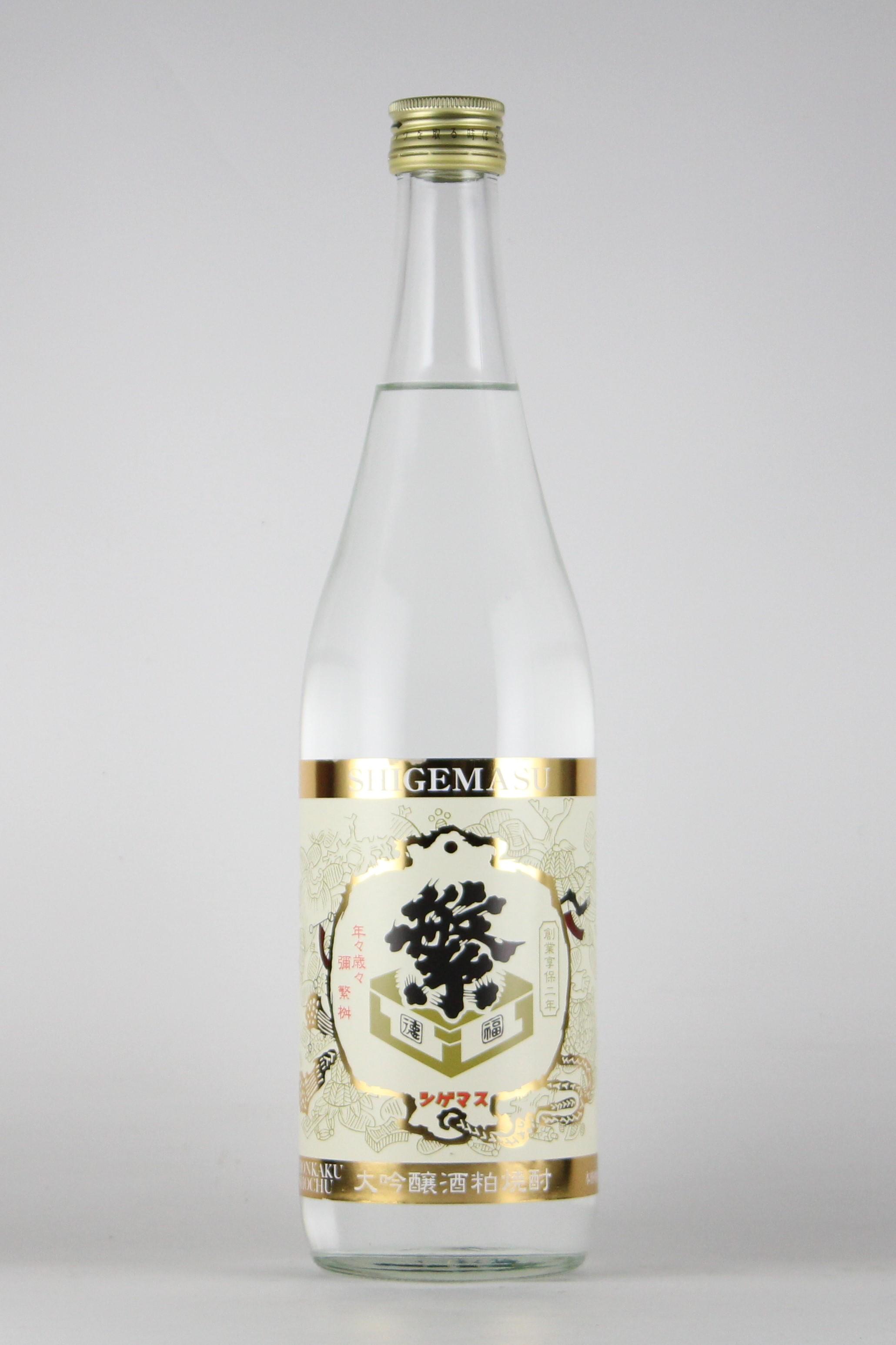 繁桝 大吟醸酒粕焼酎 山田錦 25度 720ml 【福岡/高橋商店】