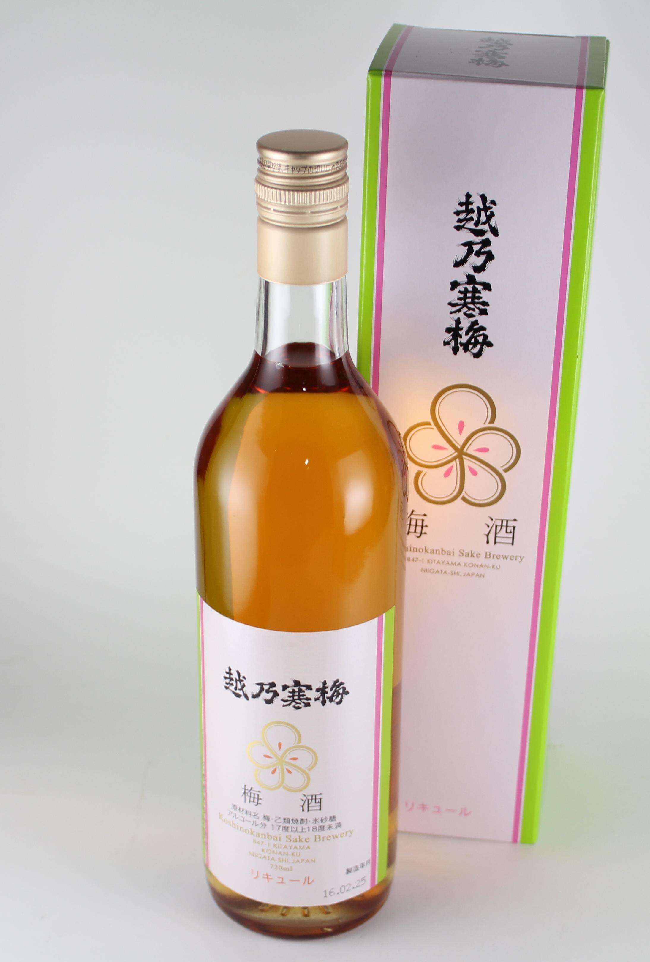 越乃寒梅 梅酒 720ml 【新潟/石本酒造】