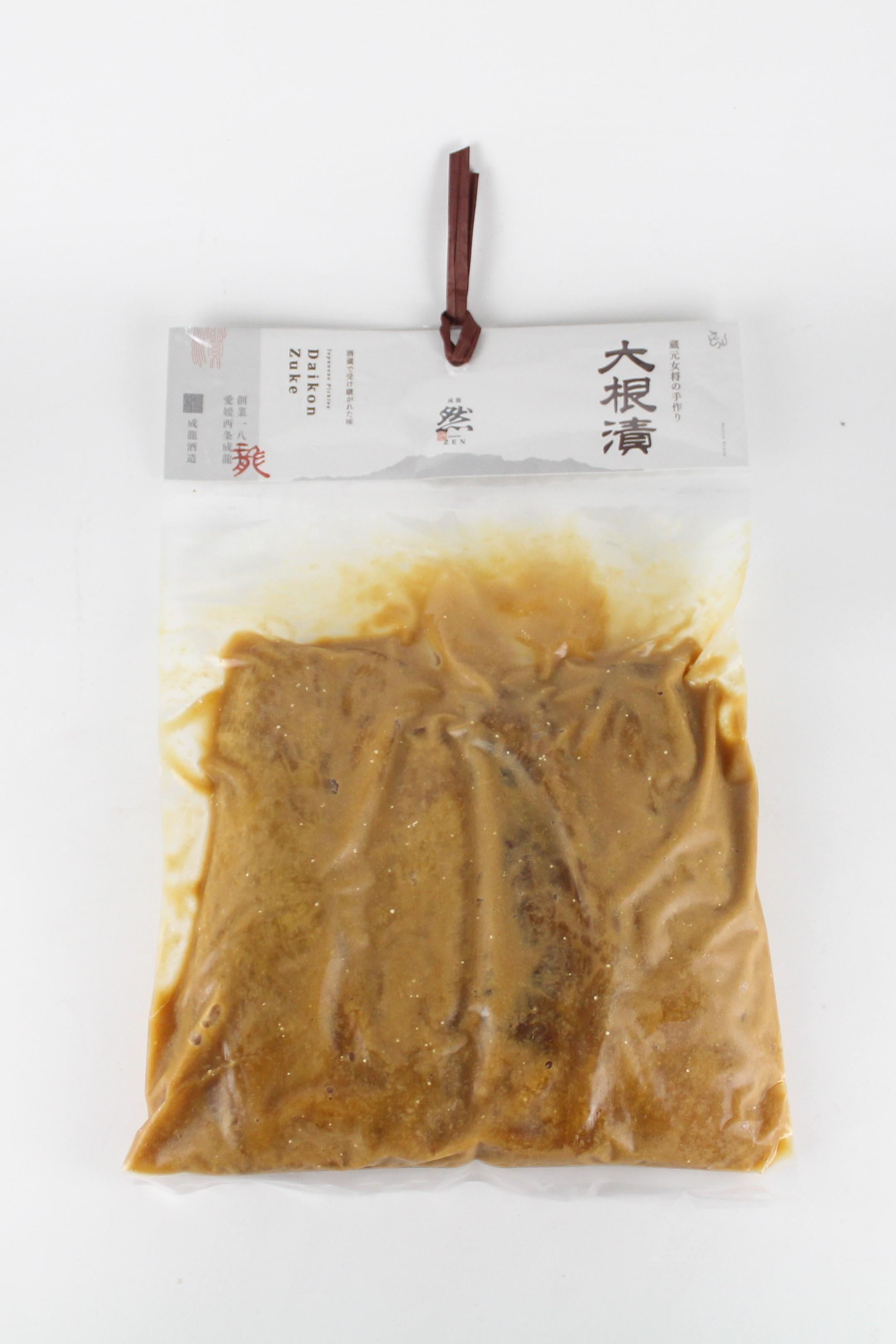 賀儀屋 大根漬 350g 【愛媛/成龍酒造】