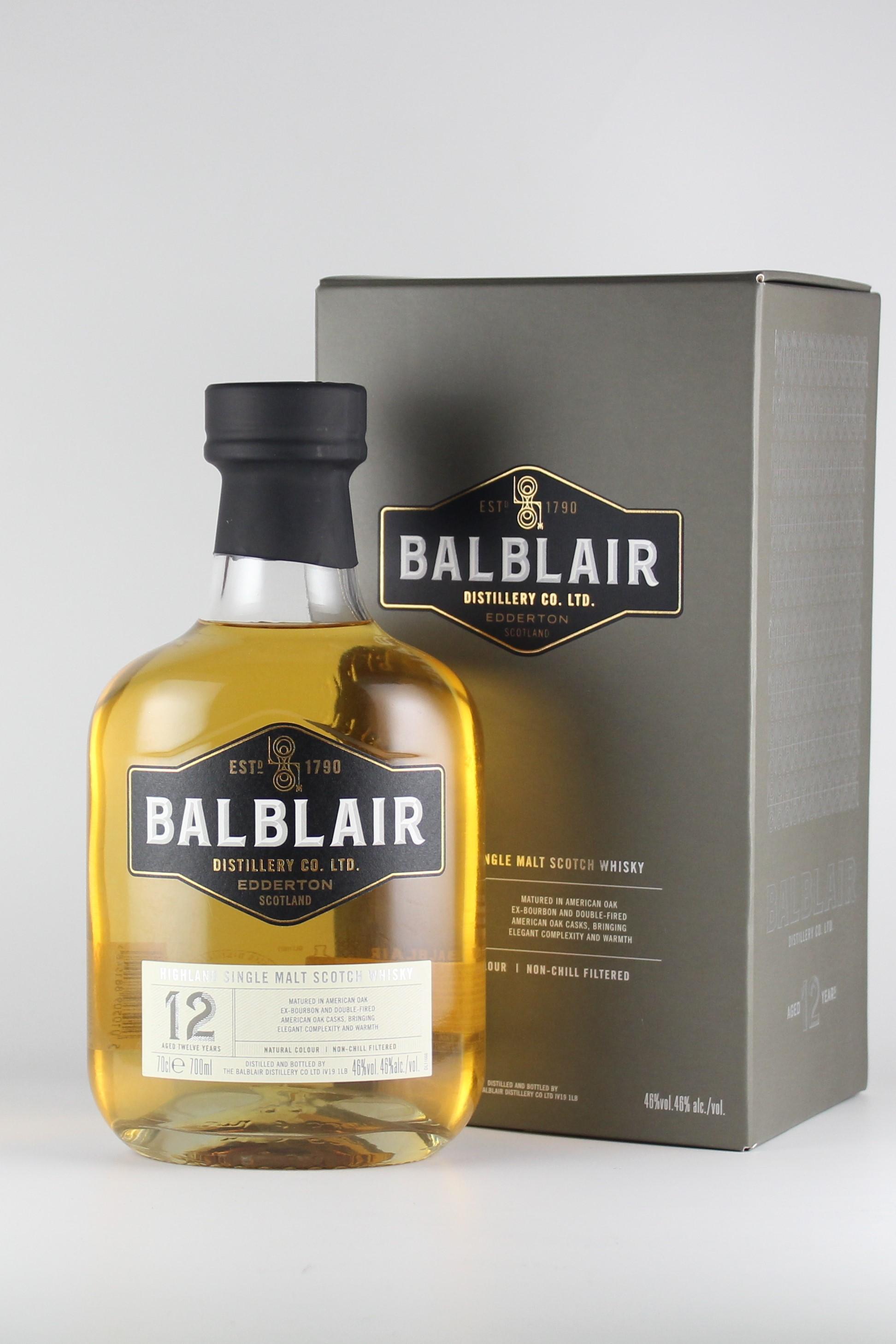 シングルモルト バルブレア 12年 46度 700ml 【スコットランド/バルブレア蒸留所】