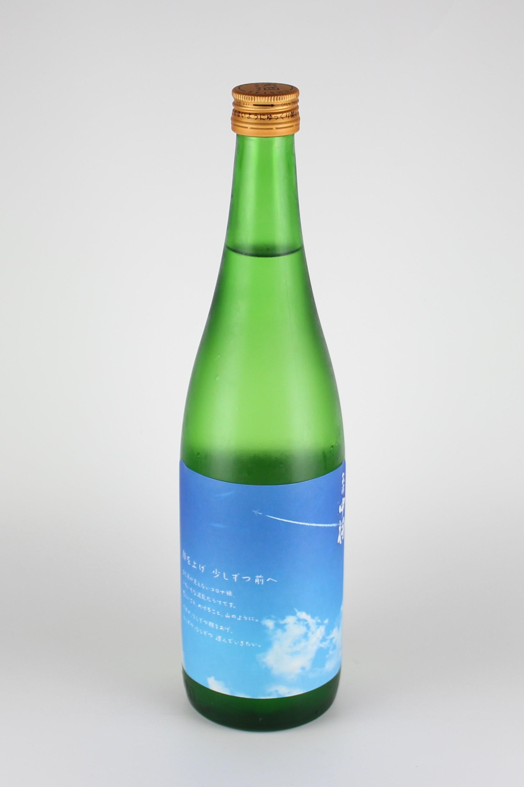 会津中将 顔を上げ少しずつ前へ 純米吟醸 720ml 【福島/鶴乃江酒造】